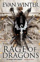The Rage of Dragons by Evan Winter Cover for African SFF list (epic fantasy book)