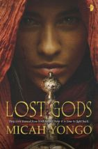 Lost Gods by Micah Yongo cover for African SFF list (high fantasy book)