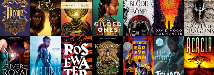 African Sci-fi and Fantasy Covers