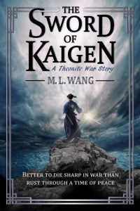 The Sword of Kaigen by M. L. Wang cover for SPFBO Finalist Sale