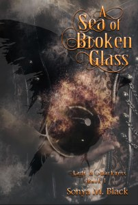 A Sea of Broken Glass by Sonya Black (historical fantasy) cover for SPFBO Finalist Sale