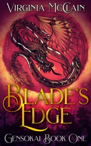 Blade's Edge by Virginia McClain cover for SPFBO Finalist Sale