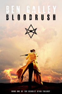 Bloodrush by Ben Galley Cover
