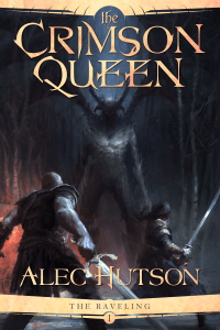 The Crimson Queen by Alec Hutson (epic fantasy) cover for SPFBO Finalist Sale