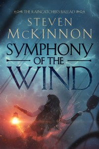 Symphony of the Wind by Steven McKinnon (epic fantasy) cover for SPFBO Finalist Sale