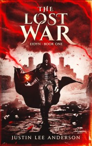 The Lost War by Justin Lee Anderson (epic fantasy) cover for SPFBO Finalist Sale
