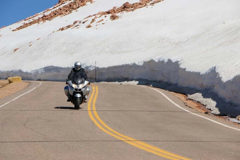 Motorcycle Riding In The Pikes Peak