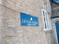 Levens School sign - 18.7.13
