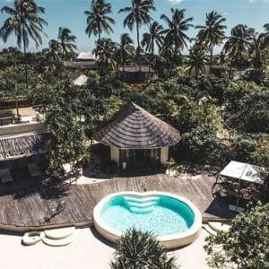 Voyage de noces en Tanzanie villa privée voyage zanzibar de luxe plage Paje