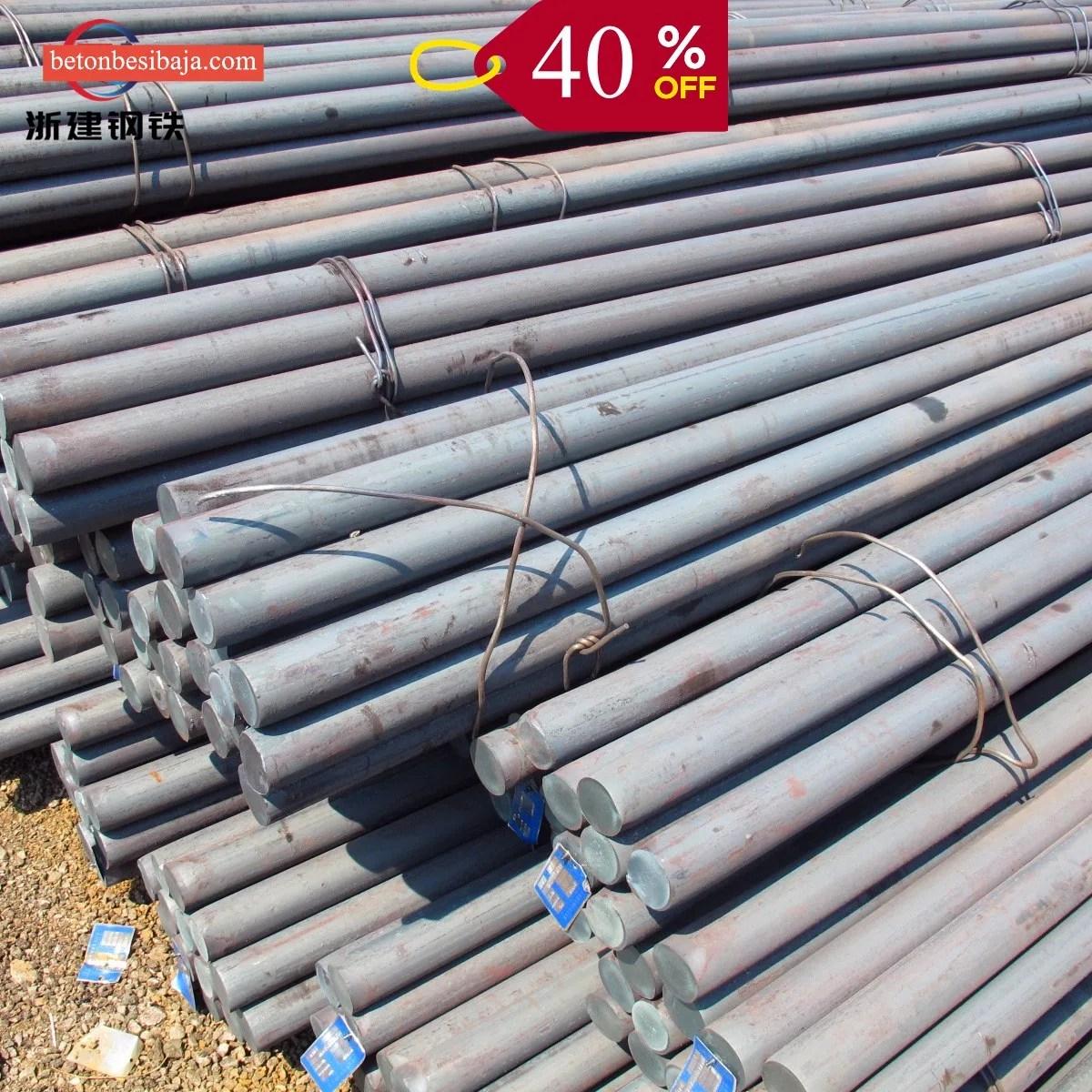 harga baja ringan per batang murah besi beton polos 8mm tangerang depok asia jaya steel