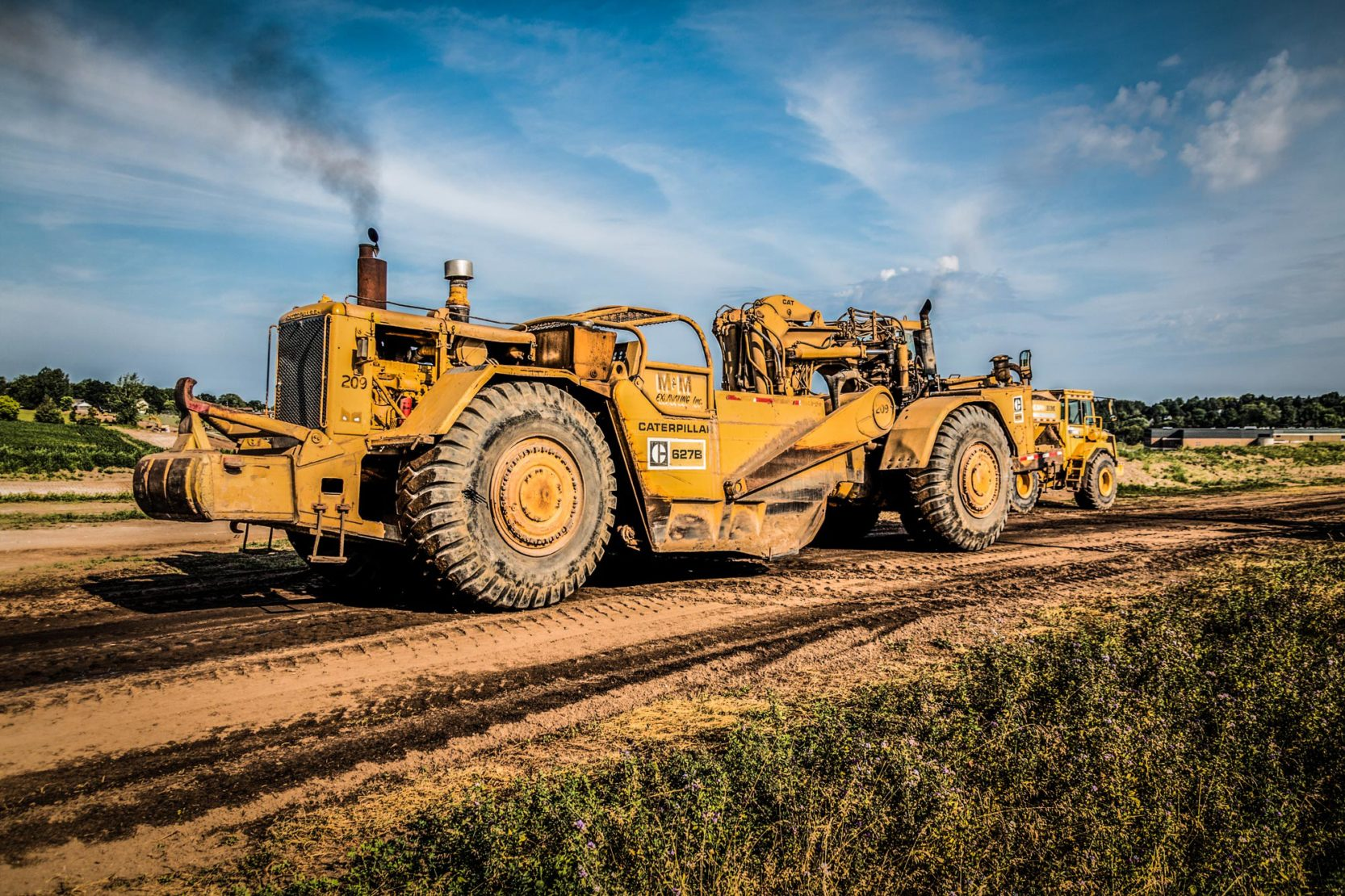 Seeking Equipment  Truck Mechanic  MM Excavating