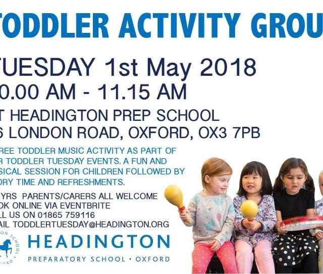 A Free Toddler Music Activity For Families With Pre School Children As Part Of Our Toddler Tuesday Events Will Be Run By The Head Of Music And Head Of