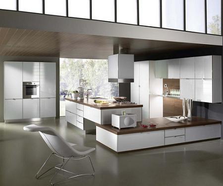 Fotos de cocinas de diseo de amplias dimensiones