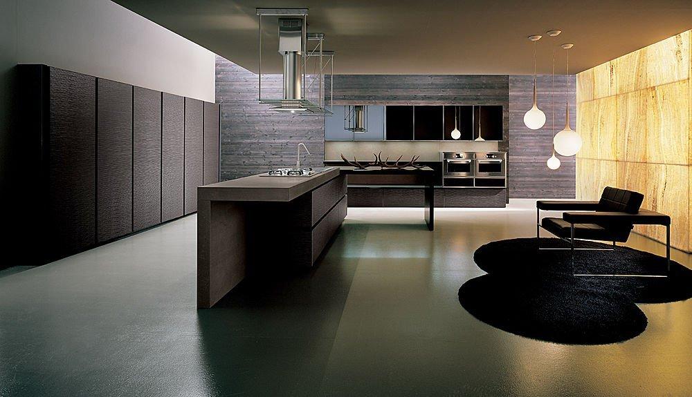 Cocinas con muebles de madera clsicas y modernas