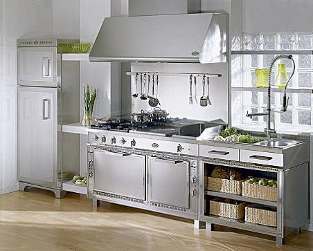 Muebles de acero inoxidable para tu cocina  Decoracin
