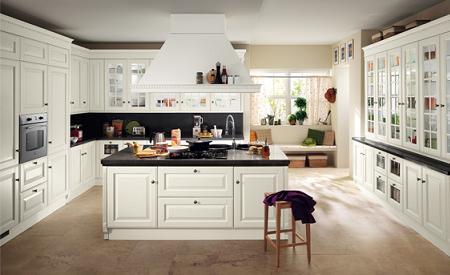 Cocinas blancas  Decoracin