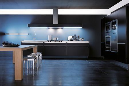 10 cocinas en color negro  Decoracin