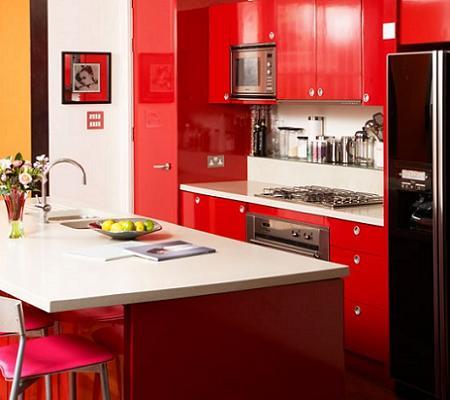 Cocinas pequeas y modernas  Decoracin