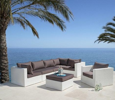 Catlogo online de muebles de jardn de Carrefour para el verano 2014  Decoracin
