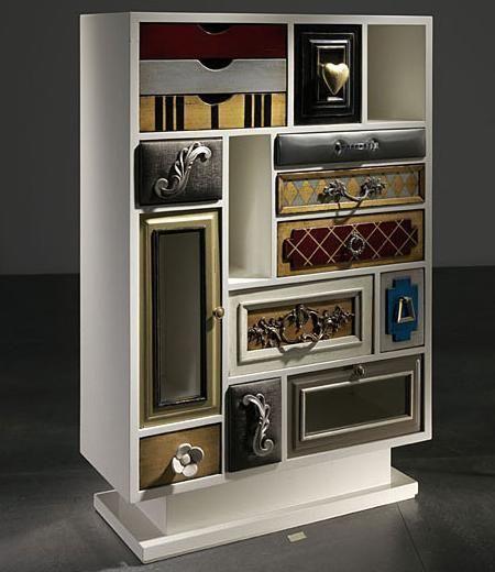Muebles recibidor muy sofisticados y vintage  Decoracin