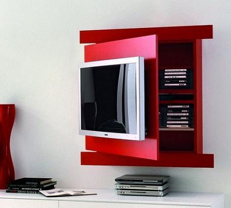 Mueble TV con almacenamiento extra un diseo muy funcional  Decoracin