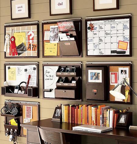 Idea para organizar tu oficina  Decoracin