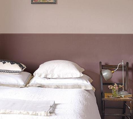 Pintar la habitacin en 2 colores  Decoracin
