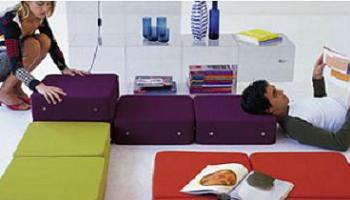 Sistema modular silla sof mesa de centro cama