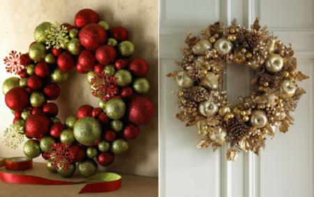 Ms de 15 coronas de Navidad muy originales  Decoracin