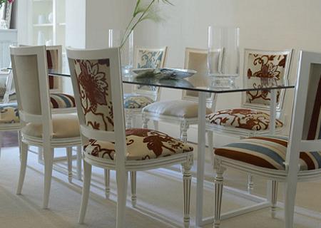 Renueva tu saln cambiando el tapizado de tus sillas