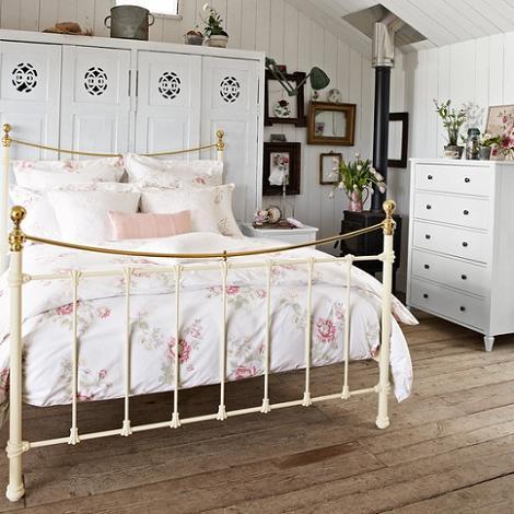 Dormitorio vintage  Decoracin