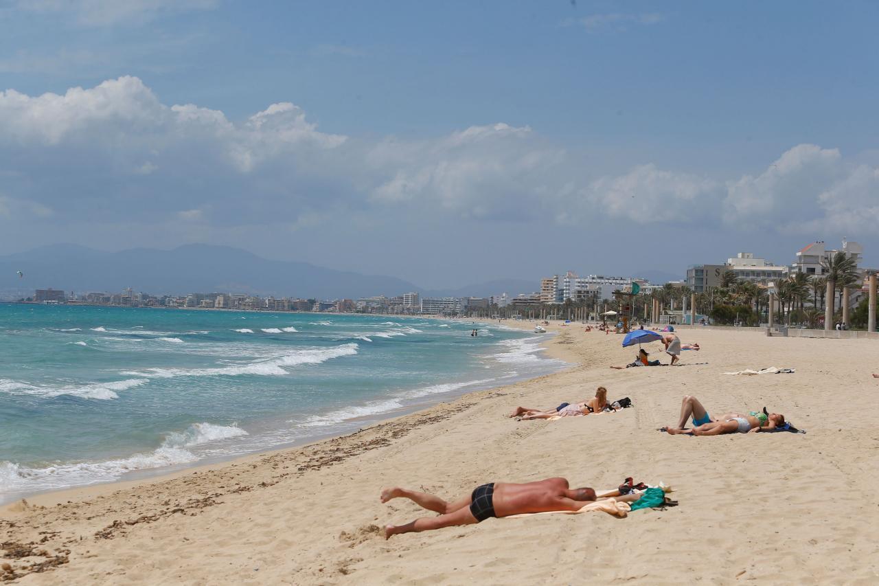 playa de palma auf mallorca streit