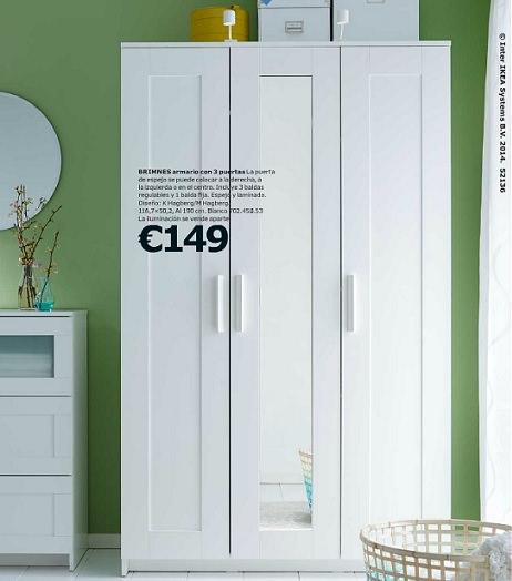 Catlogo de Ikea armarios y vestidores 2015