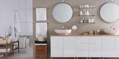 Accesorios de Ikea para organizar el bao  Decoracin