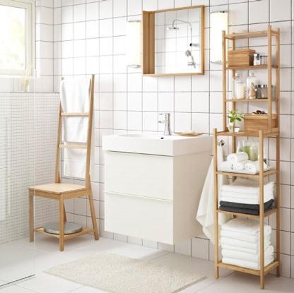 Los espejos ms baratos de Ikea para el bao