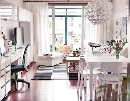Mesas de cocina baratas de Ikea redondas extensibles y de