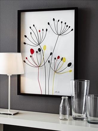 Los nuevos cuadros y lminas de Ikea 2014