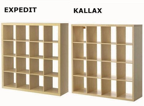 Ruedas Mueble Kallax