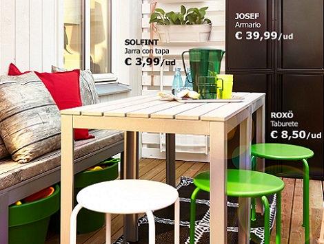 Las propuestas de Ikea para decorar tu balcn verano 2014