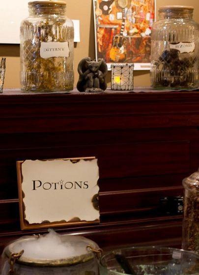 Fiesta de Harry Potter