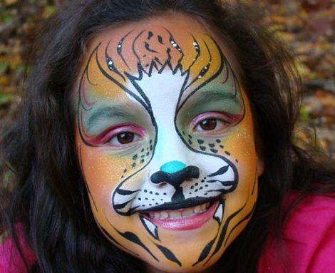 Caras pintadas  ideas para fiestas