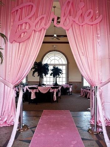 Ideas caseras para un cumpleaos de Barbie