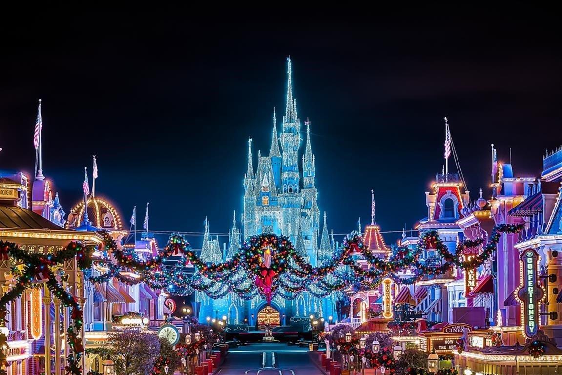Enjoy The Magic Of Disney This Christmas At Disney World