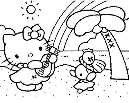 Unduh 95 Gambar Hello Kitty Hitam Putih Terbaik Gratis