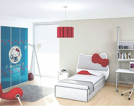 Decora tu habitacin de Hello Kitty  Hello Kitty en