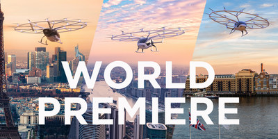 Volocopter opens reservations for electrical urban air taxi flights ©Volocopter