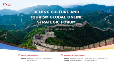 """Beijing Culture and Tourism Spearheads Post-COVID Travel Recovery with Global Online Strategic Forum: """"Restart Travel, Together with Beijing"""""""