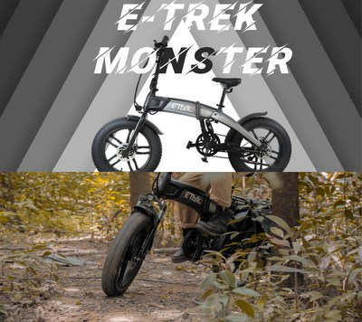 Make the world your pavement with E-Trek Monster