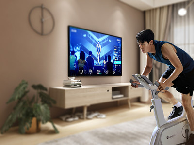 Users can see the changes in their body data when participate in the Keep cycling live class