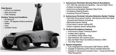 Stealth Autonomous Security Vehicle
